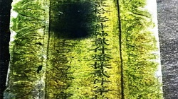 Phát hiện bia cổ quý hiếm có niên đại trăm năm ở Hà Tĩnh
