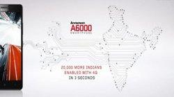 Lenovo A6000 cháy hàng trong 3 giây lên kệ