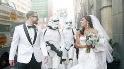 Cặp đôi tổ chức đám cưới theo phong cách phim Star War
