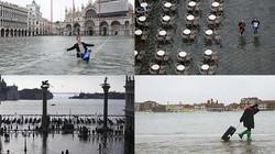 """Chùm ảnh: """"Thành phố tình yêu"""" Venice mùa nước nổi"""