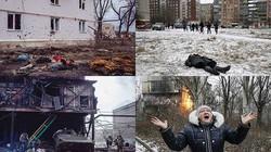 """Ukraine: Chùm ảnh """"Chiến tranh là địa ngục"""" gây ám ảnh"""