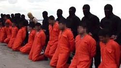 Phiến quân IS tung video hành quyết 21 con tin