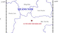 Quảng Nam: Động đất liên tiếp xảy ra ở huyện Bắc Trà My