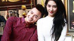 Ngô Kiến Huy và bạn gái xin quẻ đầu năm