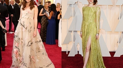 10 chiếc váy đẹp nhất Oscars 2015