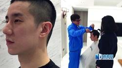 Thành Long cạo tóc con trai thể hiện sự hối cải