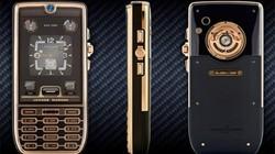 10 mẫu điện thoại chỉ có giới siêu giàu mới dám mơ