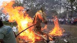 """Độc đáo lễ hóa voi, ngựa """"khủng"""" tại hội Đền Gióng"""