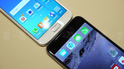 Samsung Galaxy S6 đọ dáng iPhone 6 Plus