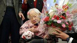 Cụ bà già nhất thế giới mừng sinh nhật thứ 117