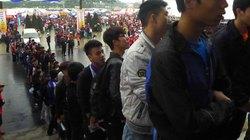 Hàng vạn người hiến máu trong mưa rét Hà Nội
