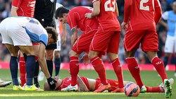 Chấn thương kinh hoàng, Martin Skrtel bất tỉnh nhân sự trên sân