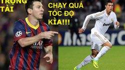 """ẢNH CHẾ: Messi """"ghen ăn tức ở"""" Ronaldo"""
