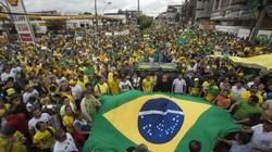 Brazil: Gần 1 triệu người biểu tình đòi luận tội Tổng thống