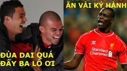 """ẢNH CHẾ: Balotelli """"chém gió"""", Ibrahimovic được mời sang Việt Nam"""