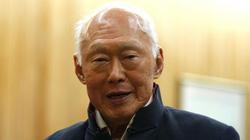 Singapore bác tin đồn ông Lý Quang Diệu từ trần