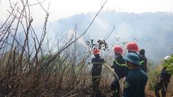 Gia Lai: Cháy lớn, thiêu rụi 3ha rừng trên núi Hàm Rồng