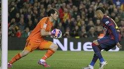 Video: Neymar bỏ lỡ cơ hội khó tin trong trận El Clasico