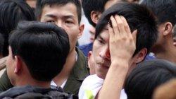 Đổ máu trong lễ hội giằng bông ở Hà Nội