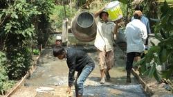 Vị Thủy (Hậu Giang): Nhà nông không ngại hiến đất