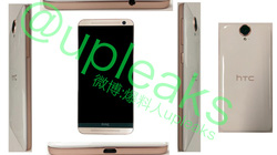 HTC One E9 màn hình 5,5 inch QHD lộ diện