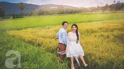 """Bộ ảnh cưới """"An Giang mùa lúa chín"""" đẹp như tranh vẽ của cặp đôi miền Tây"""