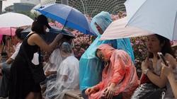 Singapore mưa trắng trời ngày đưa tiễn cố Thủ tướng Lý Quang Diệu