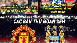 ẢNH CHẾ (6.1): Mourinho khích lệ Zidane, Guardiola gia nhập Manchester