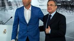 Real Madrid bị mất trí mới bổ nhiệm Zidane