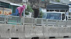 Báo động tình trạng dỡ lưới chống chói trên quốc lộ 1A