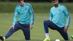 """Chelsea lại """"có biến"""", Costa và Oscar """"tẩn"""" nhau trên sân tập"""