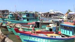 Cửa biển bồi lắng, tàu cá ngư dân mắc cạn