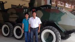 """""""Hai lúa"""" Việt chế tạo xe bọc thép: Người được Campuchia nể phục"""