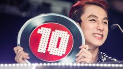 Sơn Tùng làm 'hoa hậu thân thiện' tại 'The Remix'