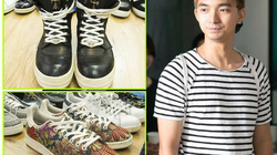Chàng trai sở hữu 200 đôi giày hiệu 'khủng' ở Hà Nội