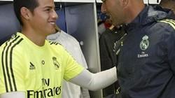 James Rodriguez khiến Zidane khó xử