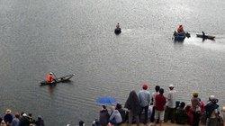 Chìm ghe trên hồ thủy điện, 2 vợ chồng mất tích