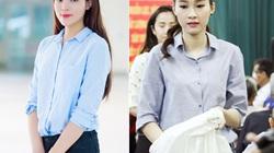 Chân dài Việt giản dị vẫn đẹp hút hồn khi đi từ thiện