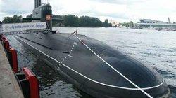 Tàu ngầm Kilo 186 - Đà Nẵng đã về vịnh Cam Ranh