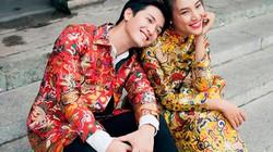 Hoàng Oanh diện áo dài xuân tình cảm với bạn trai