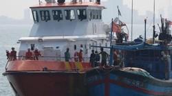 Cứu 9 ngư dân bị nạn khi đánh bắt xuyên Tết trên vùng biển Hoàng Sa