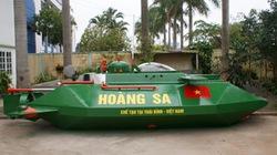 """Tàu ngầm Hoàng Sa bị """"tuýt còi"""" khi thử nghiệm trên biển"""