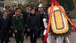 Chủ tịch nước dâng hương tưởng niệm các liệt sĩ tại Lạng Sơn