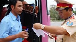 Quảng Nam: Tổng kiểm tra xe khách sau Tết, phát hiện hàng loạt xe quá tải