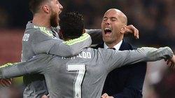 Hạ Roma 2-0, Zidane hết lời tung hô Ronaldo