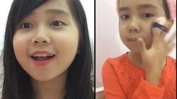 Thích thú với cô bé Việt 10 tuổi đam mê mỹ phẩm