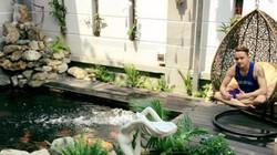 Ngắm bể cá Koi và khu vườn tiền tỉ của ca sĩ Cao Thái Sơn