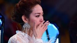 """Minh Hằng khóc sưng mắt vì trai đẹp bị """"dìm hàng"""""""