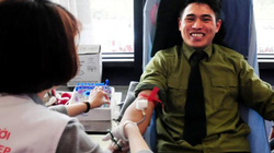 Gặp thượng sỹ 20 lần hiến máu cứu người