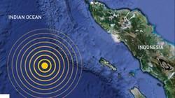 Động đất cực mạnh, cảnh báo sóng thần ở Indonesia